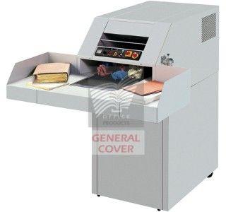 Broyeur de feuilles Ideal 4107 CC Destructeur de Document de Forte Capacité 6*50 mm