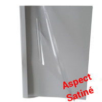 Standing Blanc - Aspect satiné