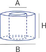 Dimensions du fût de fil de piquage