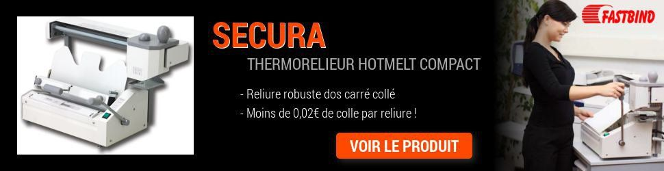 Thermorelieur dos carré collé Secura