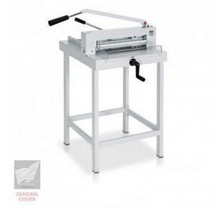 Massicot Ideal 4305 manuel sur stand métallique