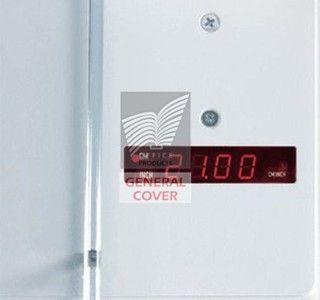 Massicot électrique Ideal 4350 sur stand - vue 3