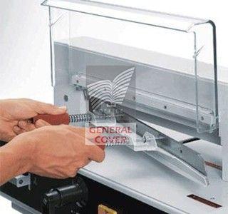 Massicot électrique Ideal 4350 sur stand - vue 4