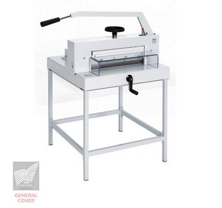 Massicot Ideal 4705 manuel sur stand métallique